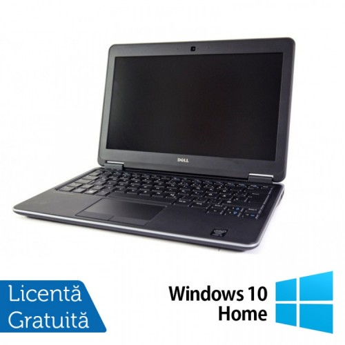 Laptop Refurbished DELL Latitude E7240, Intel Core i5-4300U 1.90GHz, 8GB DDR3, 128GB SSD, 12.5 inch + Windows 10 Home