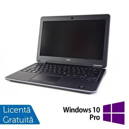 Laptop DELL Latitude E7240, Intel Core i7-4600U 2.10 GHz, 16GB DDR3, 120GB SSD + Windows 10 Pro, Refurbished