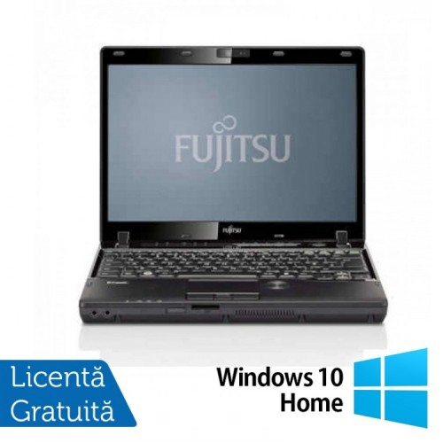 Laptop Refurbished FUJITSU Lifebook P772, Intel Core i5-3320 2.60 GHz, 4GB DDR3, 250GB SATA, DVD-RW + Windows 10 Home