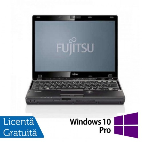 Laptop Refurbished FUJITSU Lifebook P772, Intel Core i5-3320 2.60 GHz, 8GB DDR3, 240GB SSD, DVD-RW + Windows 10 Pro