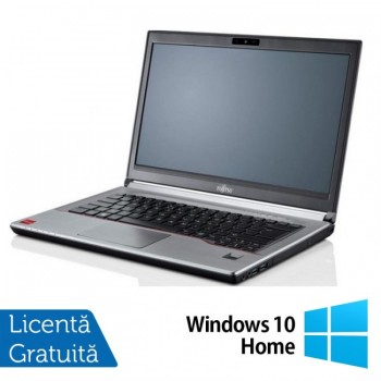 Laptop Refurbished Fujitsu Lifebook E744, Intel Core i5-4210M 2.60GHz, 8GB DDR3, 120GB SSD, 14 Inch + Windows 10 Home