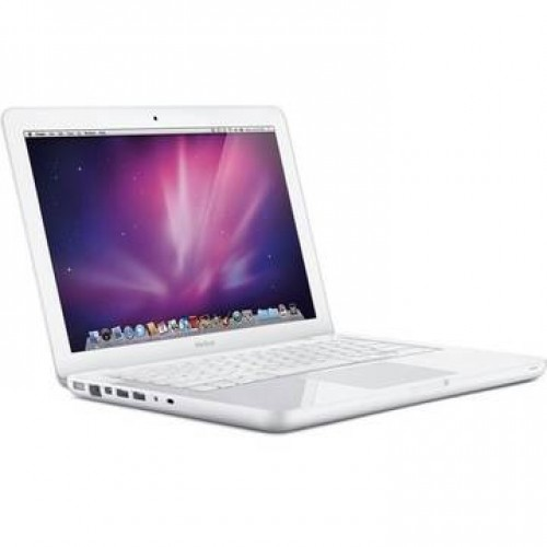 Laptop Apple MacBook A1342 P8600 2.4GHz 2GB DDR3 250GB Sata DVD-RW Nvidia Geforce 320M 13.3inch WebCam