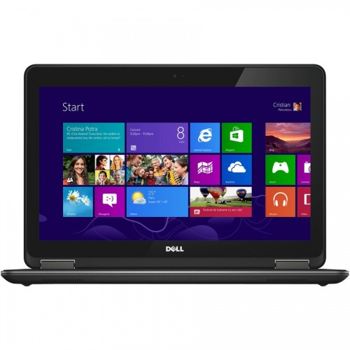 Laptop refurbished Dell Latitude E7240 Intel Core i7-4600U 2.10GHz up to 3.30GHz 8GB DDR3 256GB SSD Webcam 12 inch 1366x768 QWERTY iluminata SOft Preinstalat Windows 10 Home