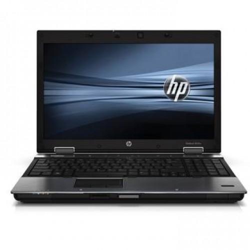 """Laptop HP Elitebook 8540w I5-520M 2.4Ghz 4GB DDR3 250GB HDD Sata DVDRW 15.6"""" NVIDIA Quadro NVS 1800M - 1 GB"""
