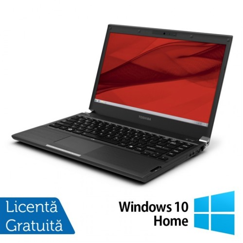 Laptop Toshiba Portege R940, Intel Core i5-3340M 2.70GHz, 4GB DDR3, 320GB SATA, DVD-RW, 13.3 Inch + Windows 10 Home, Refurbished
