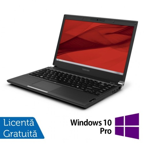 Laptop Toshiba Portege R940, Intel Core i5-3340M 2.70GHz, 4GB DDR3, 320GB SATA, DVD-RW, 13.3 Inch + Windows 10 Pro, Refurbished