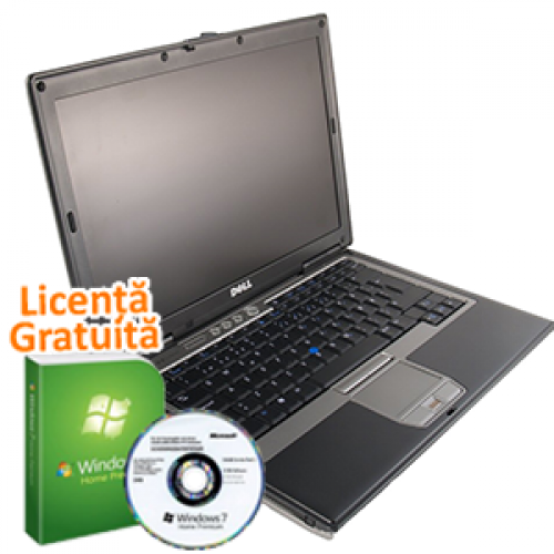 Laptop Ieftin Dell Latitude D630, Intel Core 2 Duo T7250 2.0GHz, 2Gb DDR2, 320Gb SATA, Combo + Win 7 Premium, 36 Luni Garantie