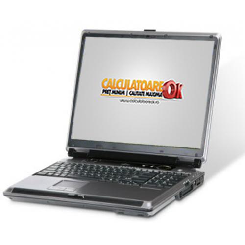 Laptop Fujitsu Siemens Lifebook E series, Intel Core 2 Duo T5500, 1.6Ghz, 2Gb DDR2, 80Gb HDD ***