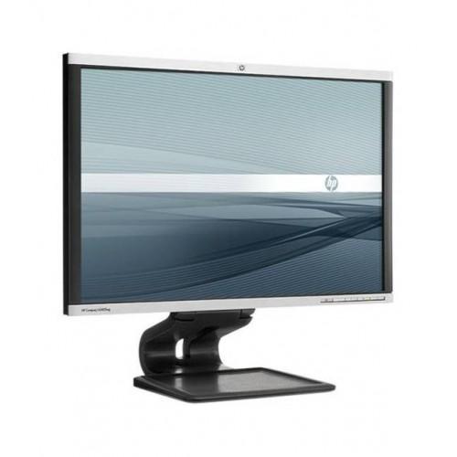 Monitor LCD LED HP LA2405wg, 24 Inch, 1920 x 1200, VGA, DVI, DP, 16.7 milioane de culori, Grad A, Second Hand