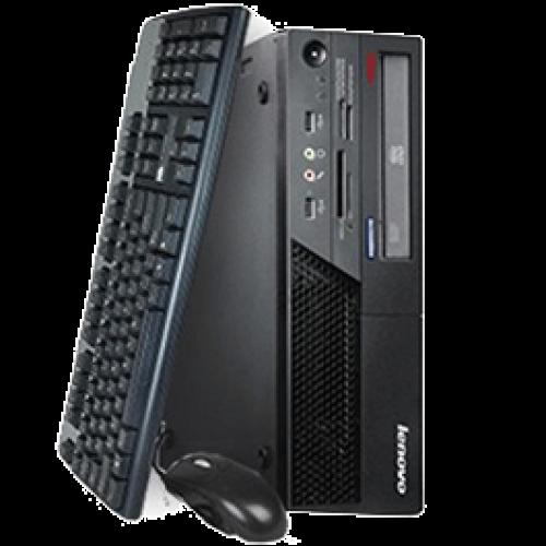 PC Lenovo M71e Intel Core i3-2120 3.30Ghz MiniTower, 4GB DDR3, 250GB HDD Sata, DVD-RW