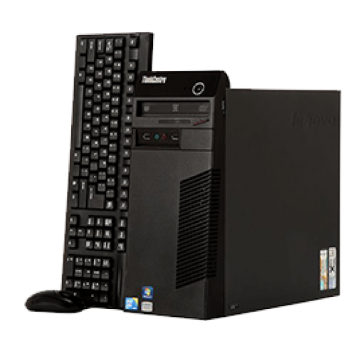 Lenovo Thinkcentre M70e TOWER, Intel Core 2 Quad Q9400 2.66GHz , 4Gb DDR3 HDD 250Gb DVD-RW