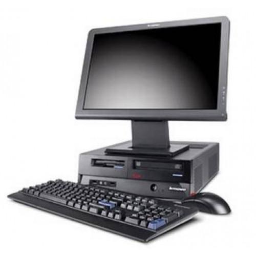 Pachet PC+LCD Lenovo M52, Intel Pentium 4, 3,0Ghz, RAM 256Mb DDR2, 80Gb HDD, DVD