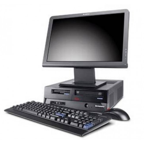 Pachet PC+LCD Lenovo M90p Desktop, i5-650 3,20Ghz, 4Gb DDR3, 250Gb HDD, DVD-RW