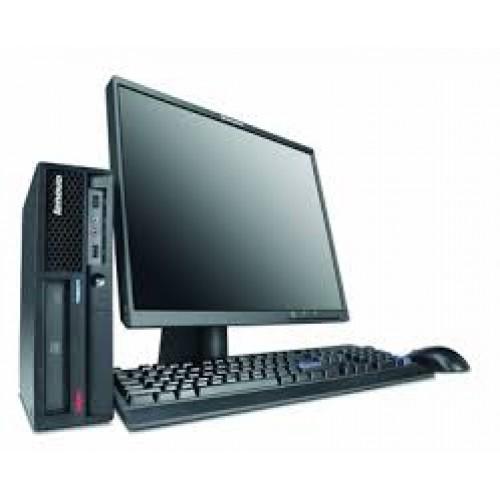 Pachet Lenovo ThinkCentre M58p, Intel Core 2 Duo E7400, 2.80Ghz, 2Gb DDR3, 160Gb HDD, DVD-RW cu Monitor LCD ***