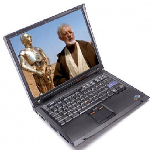 Second Hand IBM ThinkPad R51, Intel Centrino 1.5Ghz, 1GB DDR, 40Gb HDD, DVD, 14 inch ***