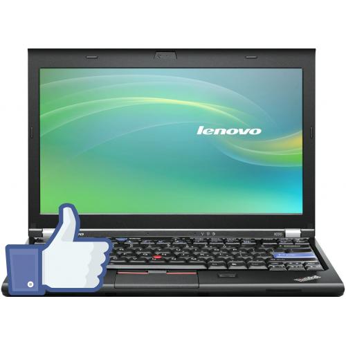 Lenovo ThinkPad X220i, Intel Core I3-2350M  2.30Ghz, 4Gb DDR3, 250Gb HDD, 12.5 inch wide LED