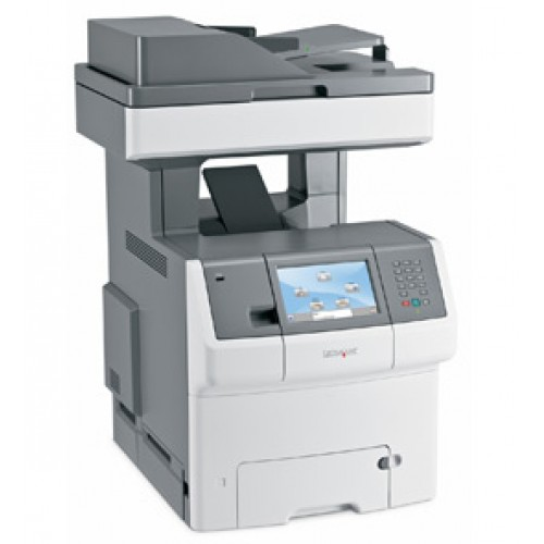 Multifunctionala COLOR Lexmark X736de, A4, Imprimanta, Scanner, Copiator, Duplex integrat