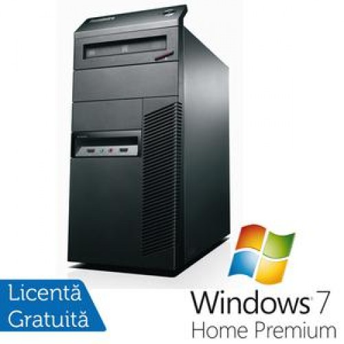 Lenovo ThinkCentre M81, Intel Core i3-2100, 3.1Ghz, 4Gb DDR3, 250Gb SATA, DVD-RW + Windows 7 Premium