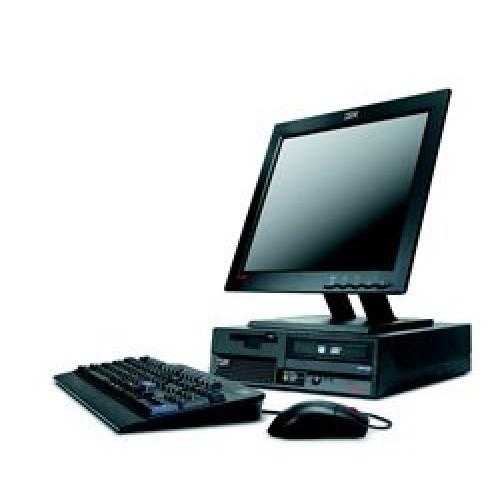 PC IBM ThinkCentre 8328-78G, Intel Celeron 3.0Ghz, 1Gb DDR2, 40Gb HDD, DVD cu Monitor LCD ***