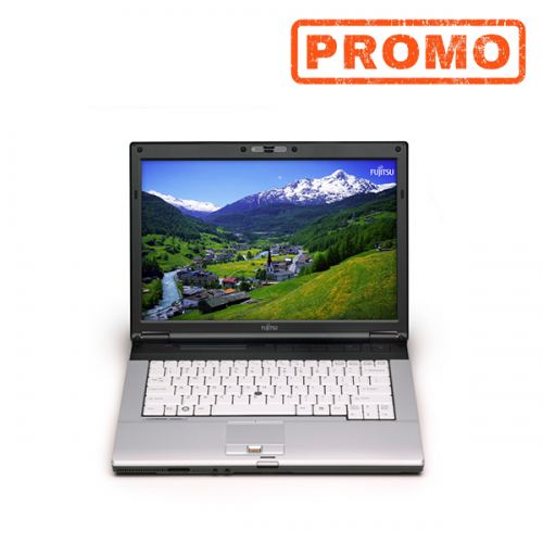 Laptop FUJITSU SIEMENS S751, Intel Core i3-2350M 2.30 GHz, 4GB DDR3, 120GB SSD, fara dvd,WEBCAM