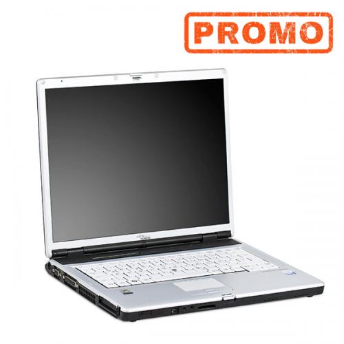 Laptop Fujitsu Siemens E8110, Core 2 Duo T5600, 1.83Ghz, 2Gb DDR2, 80Gb, DVD, 14 inch Display