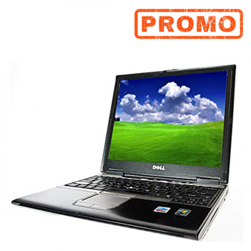 Laptop ieftin Dell Latitude D410, Pentium M 1.73Ghz, 2Gb DDR2, 60Gb HDD,  12.1 inch