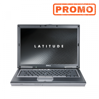Laptop Dell D620, Intel Core Duo T2300  1.66Ghz, 2GB DDR2, 80GB HDD, 14.1 inch, DVD Baterie NO