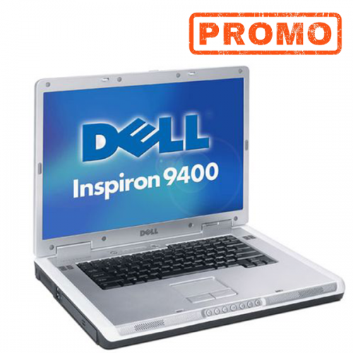 Laptop Dell Inspiron 9400 , Intel Core 2 Duo T5500 1.60GHz , 4Gb DDR2  HDD 250Gb, DVD-ROM 17 Inch Display