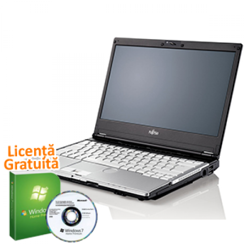 Laptop Refurbished Fujitsu Siemens Lifebook S760 Intel Core i3-M370 2.4GHz, 4GB DDR3, 320GB SATA, DVD-RW + Windows 7 Premium, Garantie 36 Luni