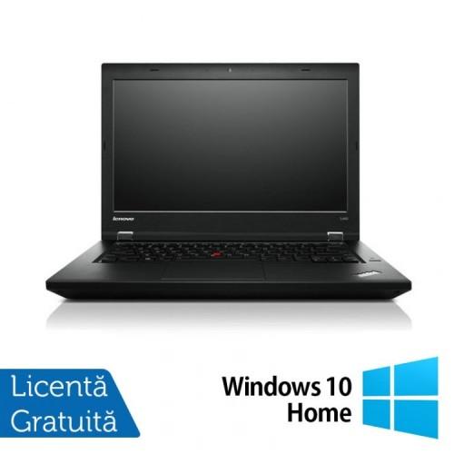 Laptop LENOVO ThinkPad L450, Intel Core i5-5200U 2.20GHz, 8GB DDR3, 120GB SSD, 14 Inch + Windows 10 Home, Refurbished