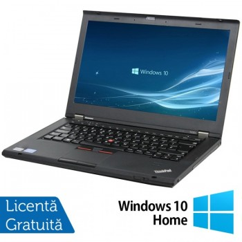 Laptop LENOVO ThinkPad T430s, Intel Core i5-3320M 2.60GHz, 8GB DDR3, 320GB SATA + Windows 10 Home, Refurbished