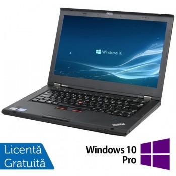 Laptop LENOVO ThinkPad T430s, Intel Core i5-3320M 2.60GHz, 8GB DDR3, 320GB SATA + Windows 10 Pro, Refurbished