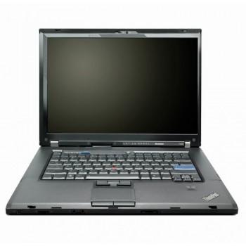 Laptop Lenovo ThinkPad T500, Intel Core 2 Duo T9600 2.80GHz, 3GB DDR3, 160GB SATA, DVD-RW, 15.4 Inch, Second Hand