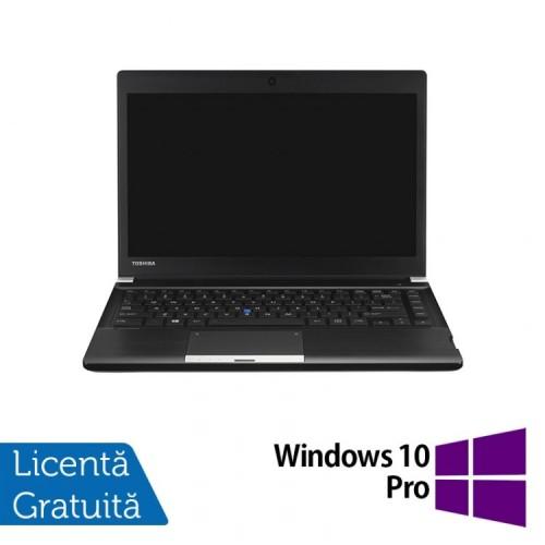 Laptop Toshiba Portege R30, Intel Core i5-4310M 2.70GHz, 4GB DDR3, 250GB SATA, 13 Inch + Windows 10 Pro, Refurbished