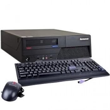PC Lenovo Thinkcentre M58e Desktop, Intel Core 2 Duo E8400 3.00Ghz, 4Gb DDR2, 250Gb HDD, DVD-ROM