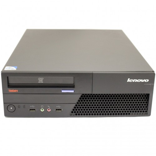 Calculator LENOVO Thinkcentre M58e DSK, Intel Core 2 Quad Q6600 2.40GHz, 4GB DDR2, 250GB SATA, DVD-ROM