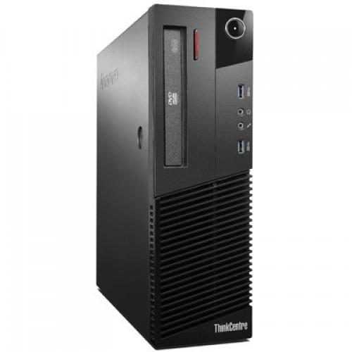 Calculator LENOVO Thinkcentre M83, SFF, Intel Core i3-4130, 3.40 GHz, 4GB DDR3, 500GB SATA, DVD-RW