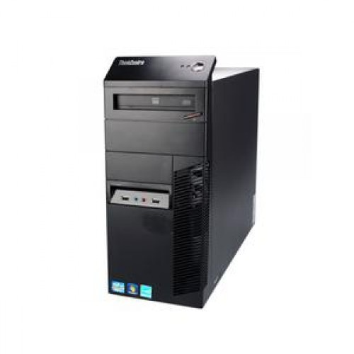 Lenovo Thinkcentre M91p Tower, Second hand, Intel Core i5-2400, 3.4Ghz, 4Gb DDR3, 250Gb HDD, DVD-RW