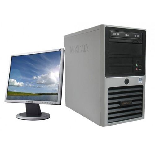Calculator Maxdata PCMD Intel Core 2 Duo E6850 3,0Ghz , 2Gb DDR2 , 160Gb HDD, DVD-ROM cu Monitor 15 inch LCD***