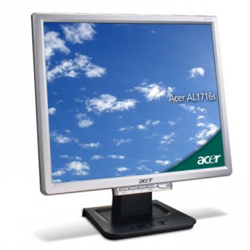 Monitor Acer AL1716 LCD, 17 Inch, 1280 x 1024, VGA, Second Hand