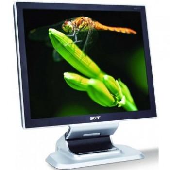 Monitor Acer AL1951 LCD, 19 Inch, 1280 x 1024, VGA, DVI, Difuzoare integrate, Second Hand