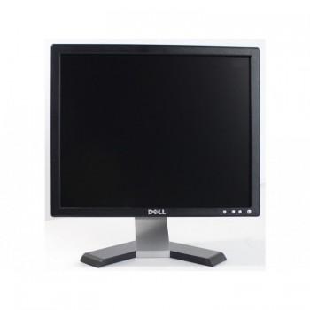 Monitor Dell E177FP, 17 inch, LCD, 1280x1024, 8 ms, VGA, 16.7 milioane de culori, Second Hand