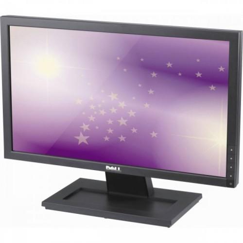 Monitor Dell E1910F LCD, 19 Inch, 1440 X 900, VGA, DVI, Second Hand