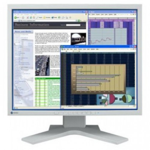 Monitor Eizo FlexScan L768 LCD, 19 Inch, 1280 x 1024, VGA, DVI, Second Hand