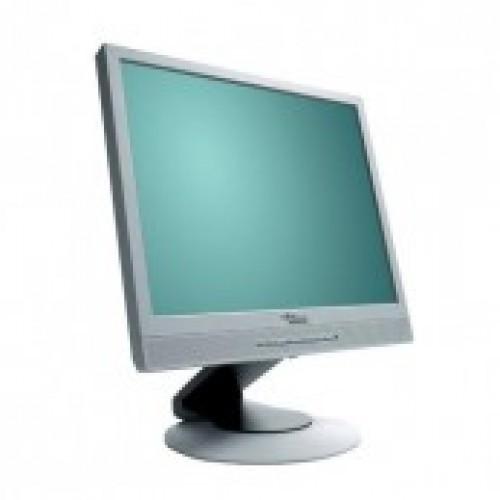 Monitor Fujitsu Siemens B17-2 LCD, 17 Inch, 1280 x 1024, DVI, VGA, Second Hand