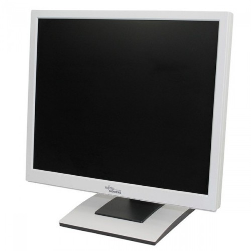 Monitor Fujitsu Siemens B19-5 LCD, 19 Inch, 1280 x 1024, VGA, DVI, Second Hand
