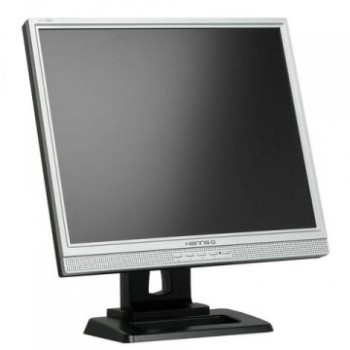 Monitor HANNS.G JC198D LCD, 19 Inch, 1280 x 1024, VGA, DVI, Boxe integrate, Second Hand