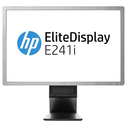 Monitoare Second Hand HP EliteDisplay E241i, IPS, LED, Full HD, 24 Inch, Grad A