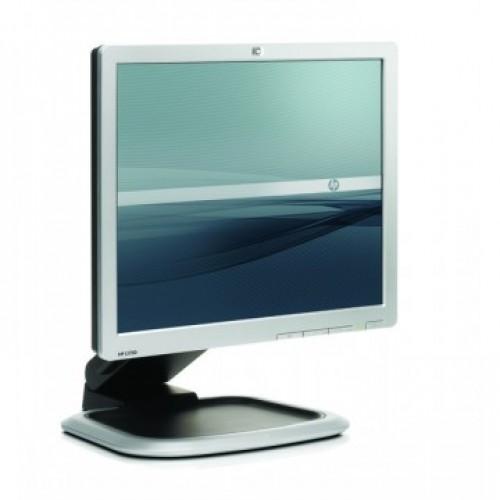 Monitor HP L1950, 19 inch, LCD , 1280 x 1024, DVI, VGA, 16.7 milioane culori, Second Hand