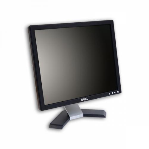 Monitor LCD DELL E176FPF, 17 inch, 1280 x 1024, HD, 12 ms, 16.2 milioane de culori, VGA, Second Hand